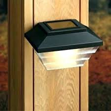 inside lighting. Perfect Inside Solar Fence Post Lights Ts Inside Powered Black Set Of 2  Plan Intended Lighting