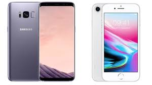 iphone 8 en samsung s8