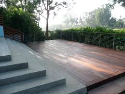 concrete deck concrete patio and deck contemporary deck raised