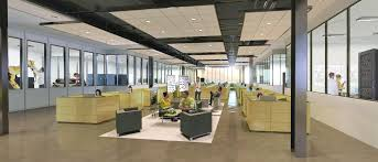 open office concept. Beautiful Concept Open Office Collaboration Area Concept With T