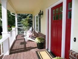 white front door yellow house. Interesting Yellow Brick House Red Door With 77 Best Front White T