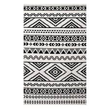 black and white area rugs modern allmodern