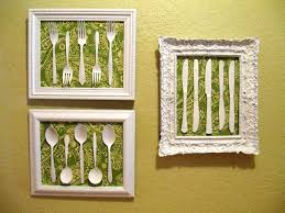 Diy Kitchen Decorating Spoon And Fork Kitchen Decor Stylish Decorating Ideas
