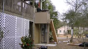 How Its Built Wheelchair Porch Lift  Second Time Lapse - Exterior wheelchair lifts
