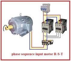 3 phase motor wiring diagrams electrical info pics non stop 3 Phase 220v Wiring Colors forward reverse three phase motor wiring diagram non stop engineering 220v 3 phase wiring colors