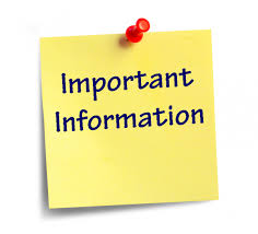 Important Information - Old Tappan School District