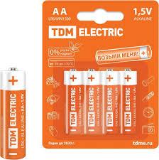 <b>Батарейка TDM Electric</b> SQ1702-0003 АА (комплект из 16 шт.)