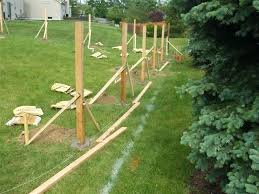 how to put up a wooden fence how to put up wooden 1 fence 1 fence