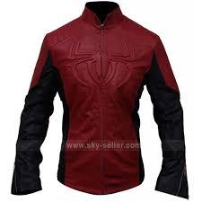 spider man red black biker leather jacket 800x800 jpg