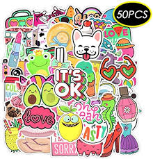 Laptop Stickers Pack <b>50 PCS Summer</b> Beach <b>Style</b> Cute: Amazon ...