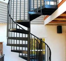 spiral staircase deck builders a stairs outdoor