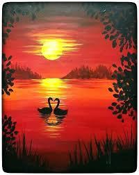 beginners acrylic painting acrylic paint design acrylic silhouette painting beginners designs the best ideas for on beginners acrylic painting