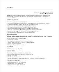 projects idea porter resume 15 porter resume sample daycare - Sample  Daycare Resume