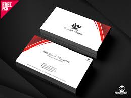Corporate Business Cards Design Free Psd Free Psd Ui Download