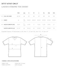 Baw Size Chart Manvel Baseball Ladies Xtreme Tek V Neck Gray Shirt