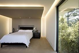 cove ceiling lighting. Cove Lights Bedroom Contemporary With Black And White Sleigh Bed Master Ceiling Lighting