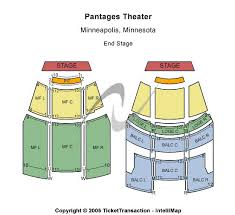 Pantages Theatre Mn Seating Chart