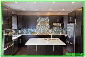 kitchen dark brown backsplash ideas grey cabinets white granite countertops with countertop and gray black paint