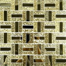 gold glass tile gold glass mirror tile bathroom mirrored mosaic wall tiles kitchen es ideas gold