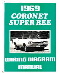 mopar b body super bee parts literature multimedia 1969 dodge coronet super bee wiring diagrams manual