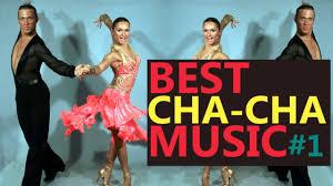 Latin cha cha dance