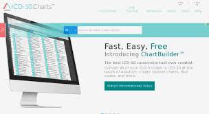 Icd 10 Chart Builder Access Icd10charts Com Icd 10 Charts