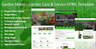 <b>Green Plants</b> - Garden Care & Service HTML5 Template by ...