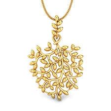 caitlin gold pendant
