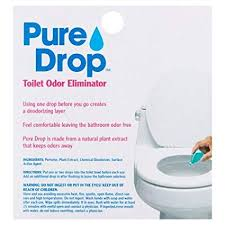 How To Get Urine Smell Out Of Bathroom Amazing Amazon Pure Drop Toilet Odor Eliminator 4848 Fl Oz Pack Of 48