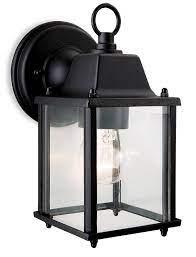 coach outdoor black wall lantern