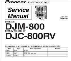 pioneer djm 800 wiring diagram pioneer image pioneer djm 800 service manual pdf file instant for on pioneer djm 800 wiring