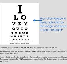 Are All Eye Charts The Same Diy Photo Eye Chart Art With Tutorial Diy Ideas Eye