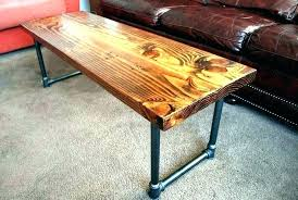pipe leg coffee table tables industrial legs desk ideas home parts diy metal base tabl