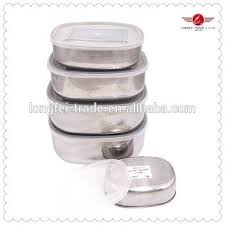 food containers stainless steel food storage containers with lids whole container pp lid sto