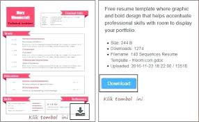 The Best Resume Templates For Word Simple Cv Template Uk