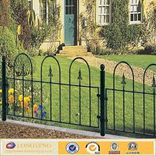 these decorative metal fencing can be used as a low garden boundary decorative metal garden fencing