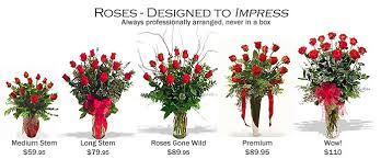 Sweet Heart Rose Size Chart Rose Comparisons