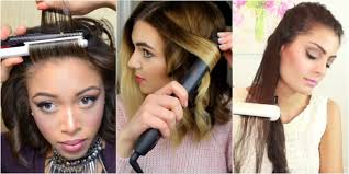 Hair Style Curling 8 ways to use your flat iron flat iron hacks 1492 by wearticles.com