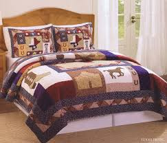 twin horse comforter horse quilts bedding horse bedding for girls