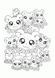 Explore Hamtaro Coloring Pages For Adults