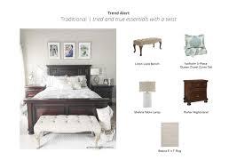traditional bedroom look