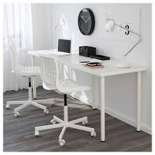stylish office desk setup. Adilslinnmon Table White 200x60 Cm Desks Desk Setup And Craft With The Stylish Art Easy Assembly Office A