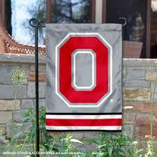 osu buckeyes garden flag yard banner