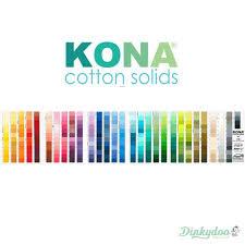 Kona Solids Color Card 2019 365 Colors Robert Kaufman
