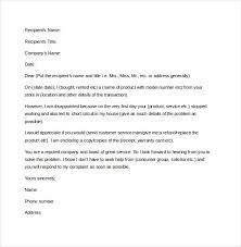 Formal Letters Of Complaint Formal Letter Of Complaint Sample Unitedijawstates Com Format