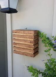 modern mailbox ideas. Sensational Design Ideas 7 Multiple Mailbox House Woodworking Plans 17 Best About Modern On Pinterest