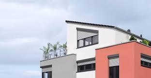 Schräg Rollladen Von Warema Für Moderne Fassaden