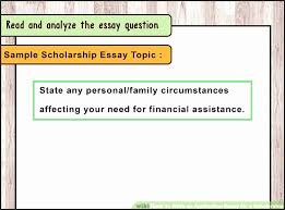 how to write application for scholarship vilny elegant scholarship   how to write application for scholarship dtdlv best of 4 ways to write an application essay
