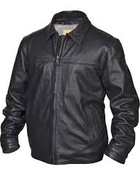 sts ranchwear men s man black leather jacket big tall 4xl black