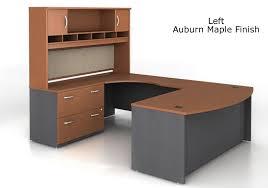 u shaped office desk.  Desk Bush Series C UShaped Desk Bundle W Lateral File And 72 With U Shaped Office O